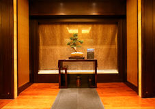 Spa wall - Langham - HK Stock Images
