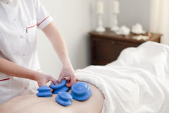 Spa and wellnes massage royalty free stock photo