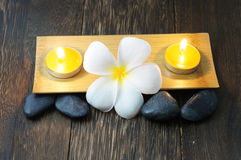 Spa and Wellness. The image or symbol of spa and wellness Royalty Free Stock Photos