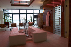 Spa and wellness. Modern spa and wellness space Royalty Free Stock Images