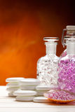 Spa and wellness minerals Stock Photography