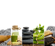 Spa Wellness Mix Stock Image