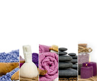 Spa Wellness Mix Royalty Free Stock Photo