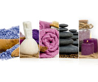 Spa Wellness Mix Royalty Free Stock Images