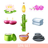 Spa And Wellness Set Stock Images