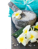Spa and wellness setting Royalty Free Stock Images