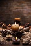 Spa and wellness setting Stock Image