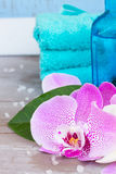 Spa and wellness setting Royalty Free Stock Photography