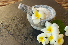 Spa and wellness setting Stock Images