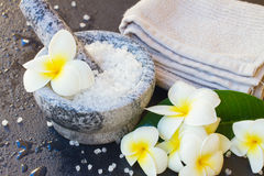 Spa and wellness setting Stock Photo