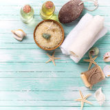 Spa and wellness setting Stock Photography