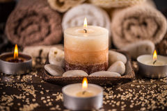 Spa and wellness setting Royalty Free Stock Photos