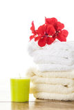 Spa  & wellness setup Stock Images