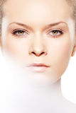 Spa, wellness, skin care. Close-up, beauty make-up Royalty Free Stock Image