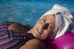 Spa woman Royalty Free Stock Photo
