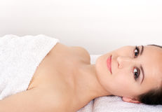 Spa woman Royalty Free Stock Image