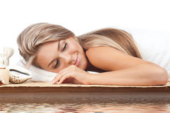 Spa woman Stock Images