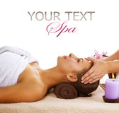 Spa Woman. Beautiful Spa Woman. Day Spa Stock Photos