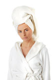 Spa woman Royalty Free Stock Images