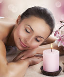 Spa Woman. Day Spa Royalty Free Stock Photos