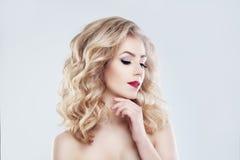 Spa Woman Fashion Model. Healthy Skin Royalty Free Stock Photos