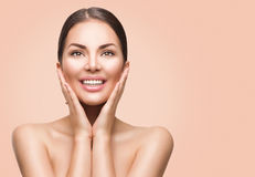 Spa woman with perfect skin Stock Photo