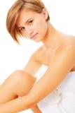 Spa Woman Portrait Stock Photos