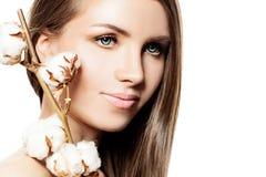 Spa Woman Portrait Stock Image