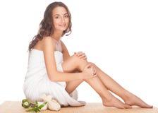 Spa woman Royalty Free Stock Image
