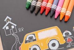 Spaß-Zeichnungen Lizenzfreies Stockbild