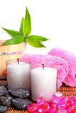 Spa zen accessories Royalty Free Stock Photo