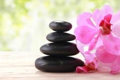 Spa zen stone Royalty Free Stock Photos