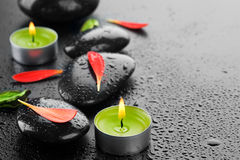 Free Spa Zen Stones Royalty Free Stock Image - 14001406