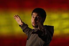 Spaans concept stock foto