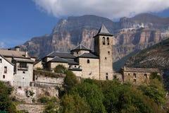 Spaans dorp royalty-vrije stock afbeelding