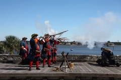 Spaans Fort royalty-vrije stock afbeeldingen