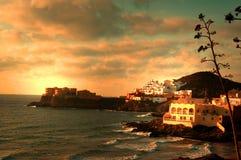 Spaans landschap stock afbeelding
