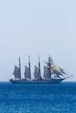 Spaans Marine opleidingsschip J.S. de ElCano Stock Fotografie