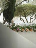 Spaans terrasdetail Stock Foto