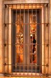 Spaans Venster Royalty-vrije Stock Afbeelding