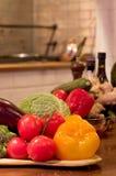 Spaans voedselstilleven Stock Foto's