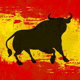 Spaanse Achtergrond Stock Afbeeldingen