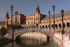 Spaanse architectuur Royalty-vrije Stock Afbeelding