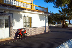 Spaanse architectuur Royalty-vrije Stock Foto