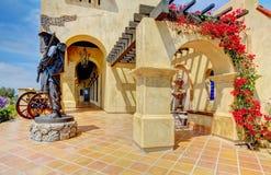 Spaanse architectuur van het Historische Museum van Mormonen. Stock Fotografie