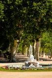 Spaanse bestemming, Aranjuez Historische koninklijke stad Royalty-vrije Stock Fotografie