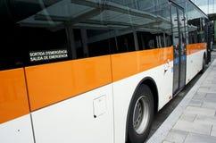 Spaanse bus Stock Afbeeldingen