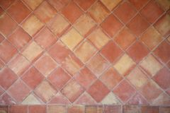 Spaanse ceramiektegelachtergrond Stock Afbeeldingen