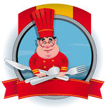 Spaanse Chef-kok Stock Afbeelding