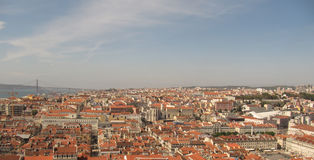 Spaanse cityscape. stock foto's